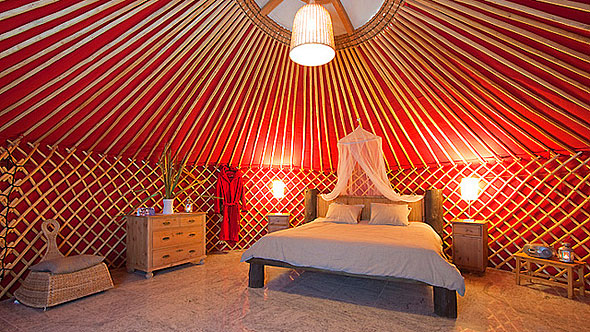 Yurt retreats